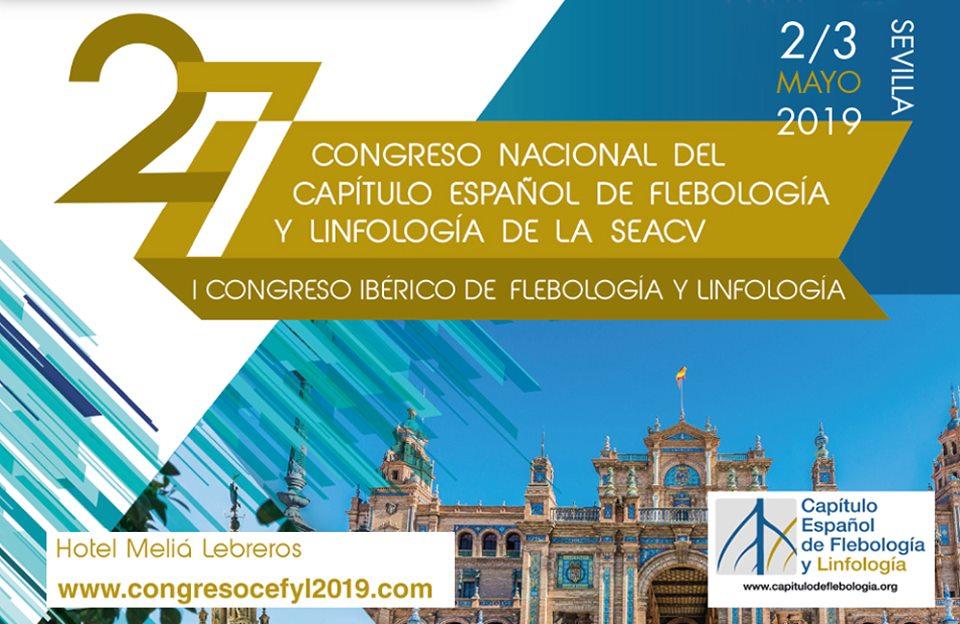 27º Congreso Nacional del Capítulo Español de Flebología y Linfología de la SEACV.