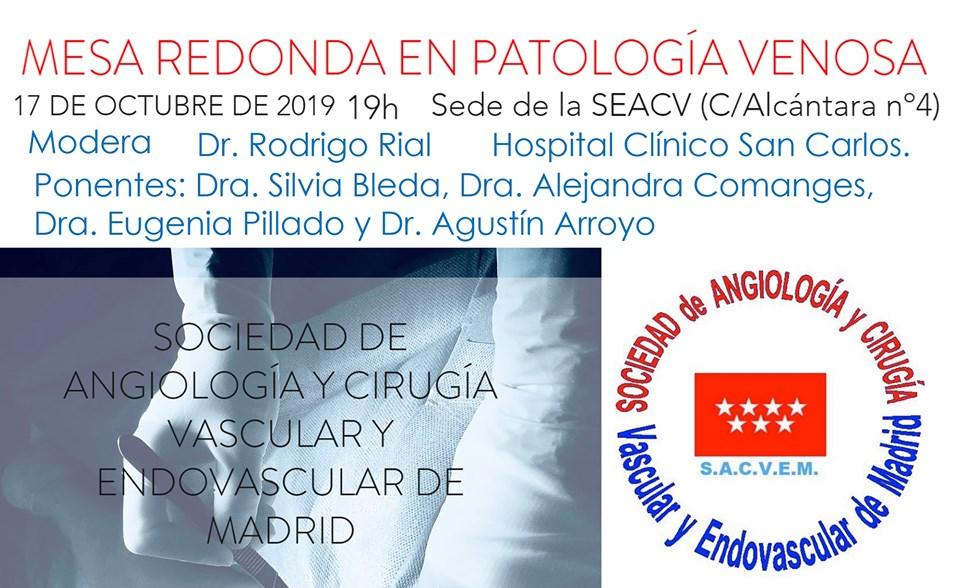 Mesa Redonda en Patología Venosa