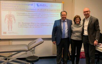 Seminarios Formativos de la Asociación Española del Linfedema (AEL)