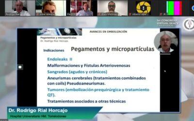 Primer Congreso Virtual de la Sociedad Española de Angiología y Cirugía Vascular.