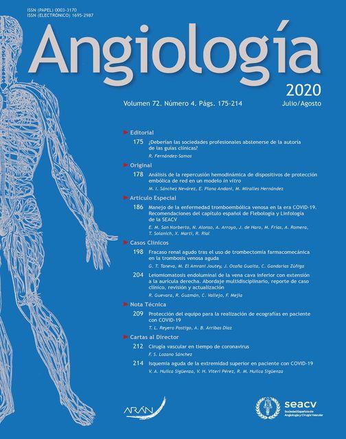 Manejo de la enfermedad tromboembólica venosa en la era COVID-19