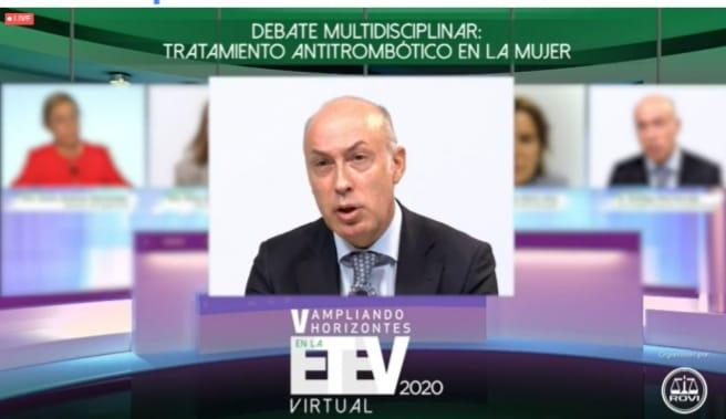 Debate Multidisciplinar de Tratamiento Antitrombótico de la Mujer.