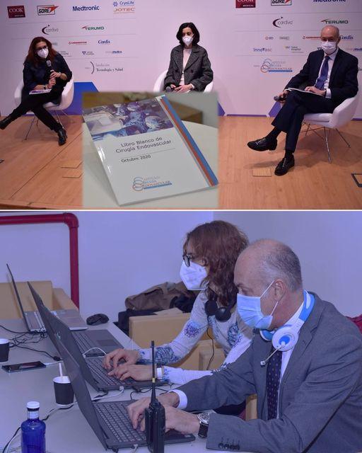 El Dr. Rial regidor de casos en directo en el VII Simposio Internacional de Cirugía Endovascular, celebrado el 6 y 7 de Noviembre.