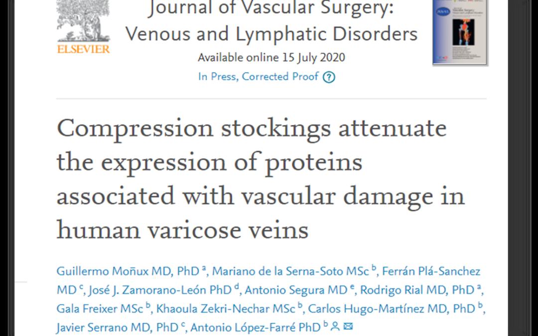 El Dr. Rial coautor de una publicación en el Journal of Vascular Surgery Venous and Lymphatic.