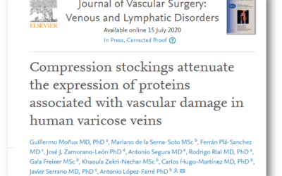 El Dr. Rial coautor de una publicación en el Journal of Vascular Surgery Venous and Lymphatic.