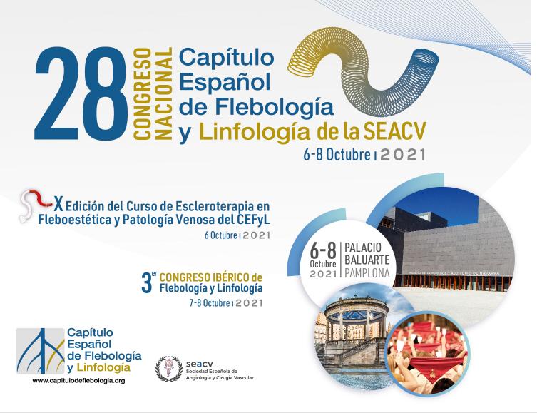 Próximo Congreso Nacional Español de Flebología y Linfología de la SEACV.