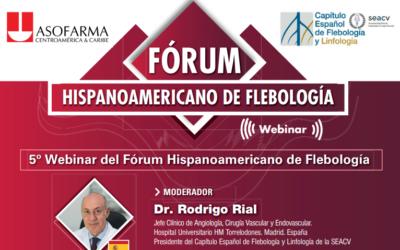 5ª Webinar del Fórum Hispanoamericano de Flebología