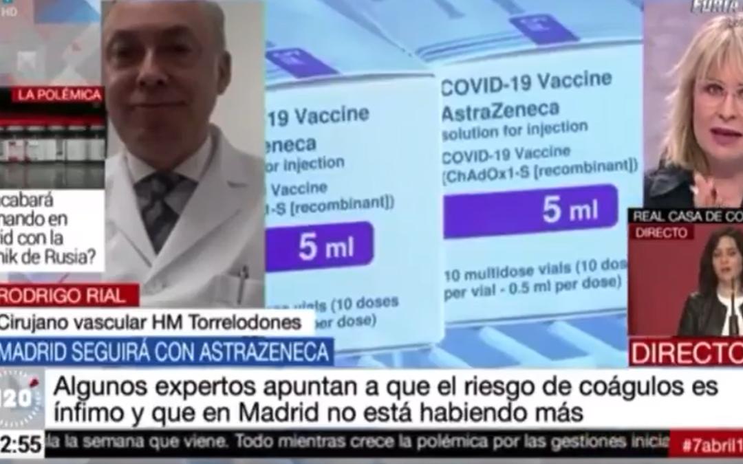 Entrevista del Dr. Rodrigo Rial para Telemadrid.