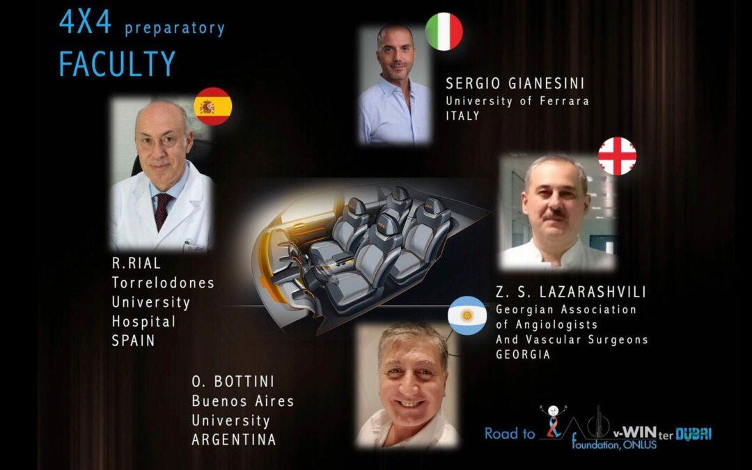 4 Webinars de formación en patología venosa y linfática.