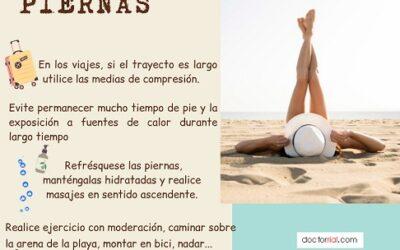 En verano cuida tus piernas