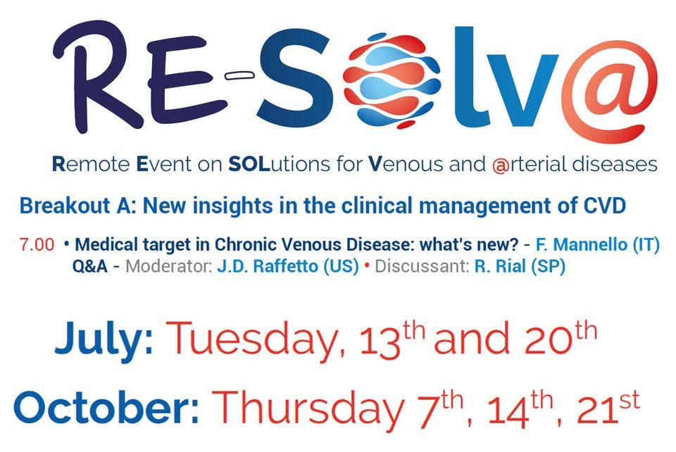 El Dr. Rodrigo Rial, participa en un evento internacional  online  denominado Re-Solv@.