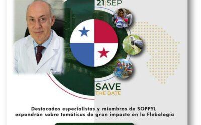El Dr. Rodrigo Rial participará en directo, representando al Capítulo Español de Flebología, en el Simposio Panamericano de Flebología el 21 de septiembre.