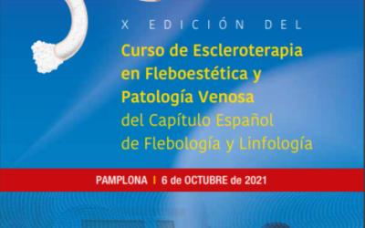 X Edición del Curso de Escleroterapia en Fleboestética y Patología Venosa del CEFyL